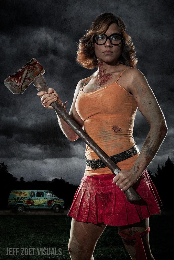 Galería cosplay: Velma Dinkley de Scooby Doo (5/6)
