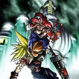 Mario vs Cloud Strife