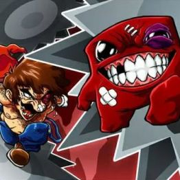 Mario vs Meat Boy