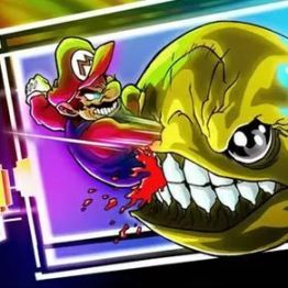 Mario vs Pac-Man