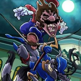 Mario vs Sly Raccoon