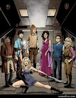 Firefly + The Big Bang Theory