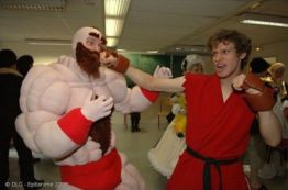 Zangief y Ken - Street Fighter