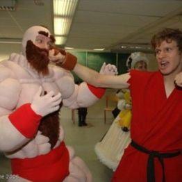Zangief y Ken - Street Fighter
