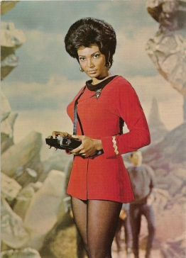 Teniente Uhura - Star Trek