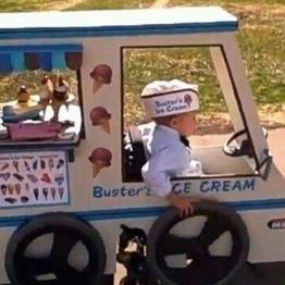Furgoneta de helados