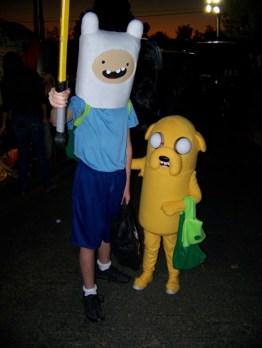Finn y Jake - Hora de aventuras