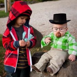 Jesse Pinkman y Walter White - Breaking Bad