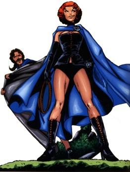 Reina Negra del Club Fuego Infernal