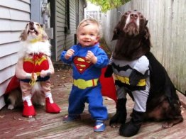 Wonder Woman, Superman y Batman